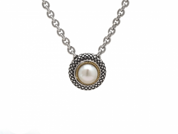 Andrea Candela Pearl Necklace by Andrea Candela