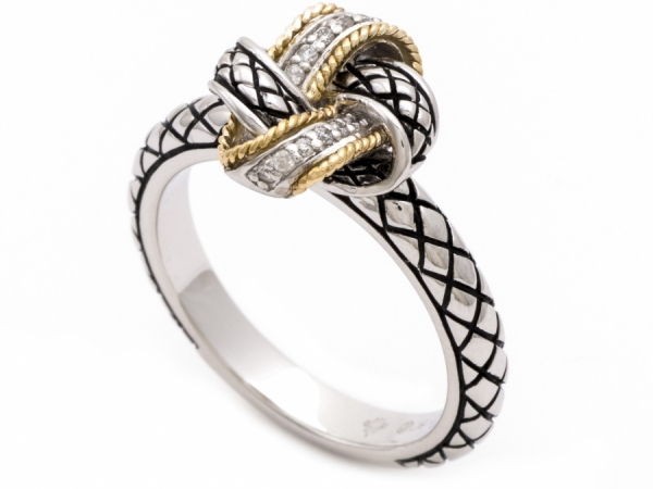 Andrea Candela Love Knot Ring 1 by Andrea Candela
