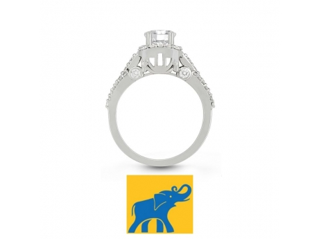 Carriage fairy tale ring by Veer.